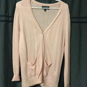 100% Wool Pink Cardigan